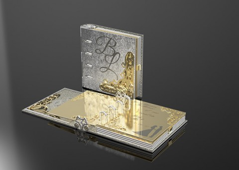 Gold and Platinum Book of Life designed by OroDesign